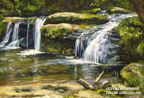 Камышлинский водопад фото 2