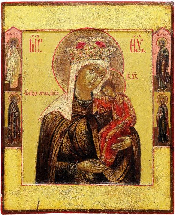 Молитва, Тропарь, Величание и Кондак пред иконой Богородицы Избавительница от бед