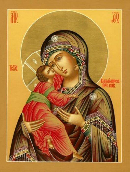 Молитва иконе богоматери владимирской