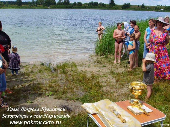 Святое озеро апостолов Петра и Павла у поселка Полевой